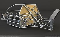 Structure Support Boite de Vitesse et Aileron