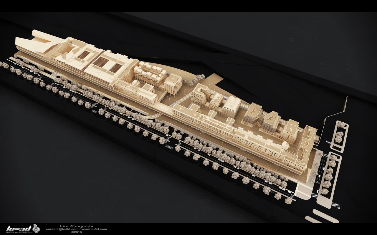 Architecture image for Maquette cuisine 3d